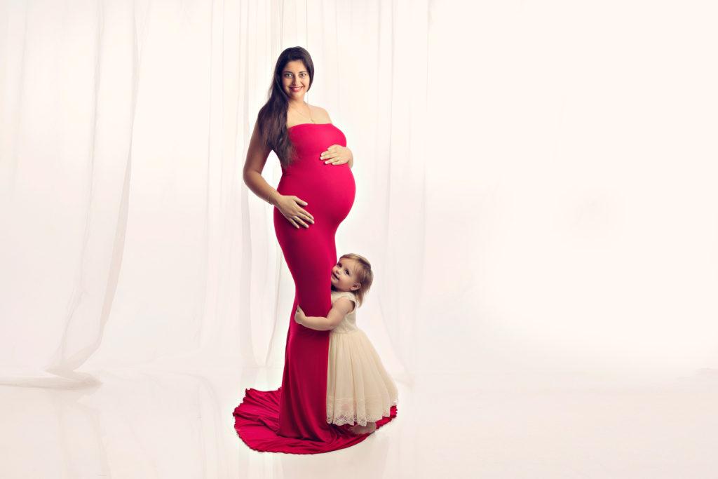 Ideen fuer ein Babybauch Fotoshooting