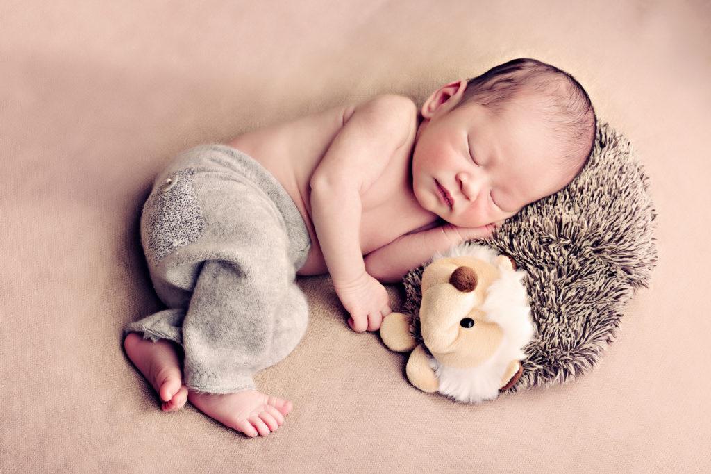 Ideen fuer ein Neugeborenen Shooting