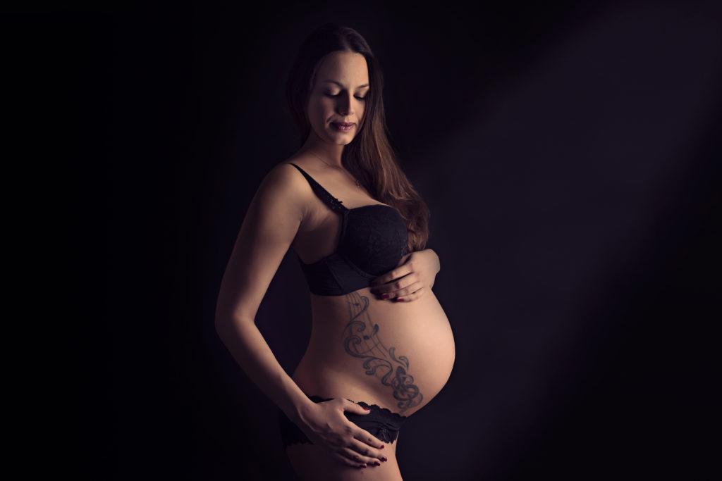 Natuerliche Schwangerschaftsfotos