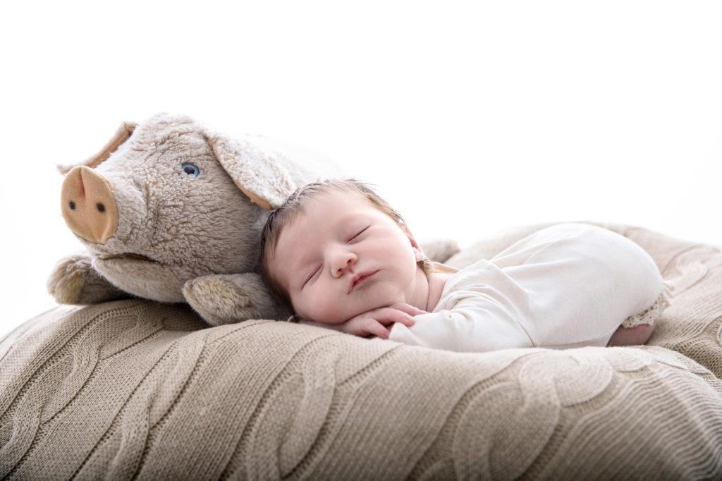 Neugeborenenfotograf in Muenchen