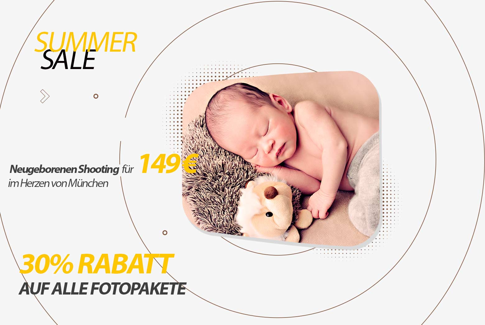Baby Shooting professionelle