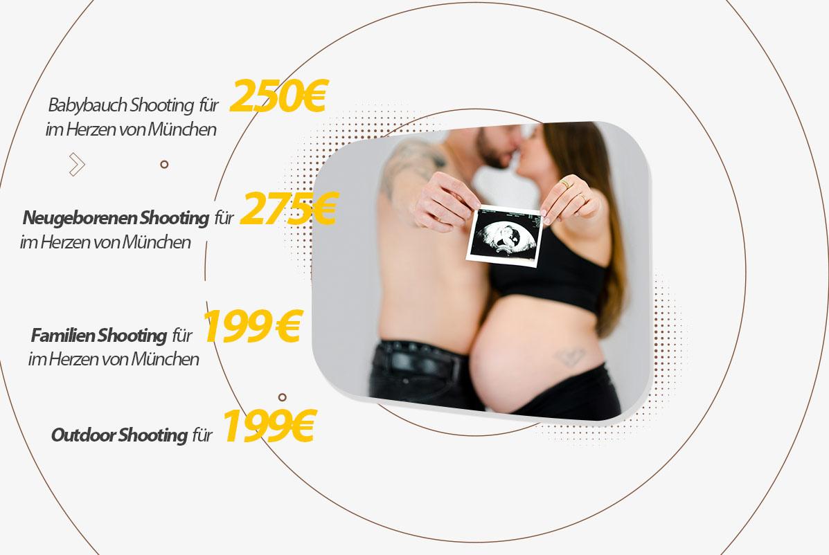 Wie viel kostet ein babybauch shooting