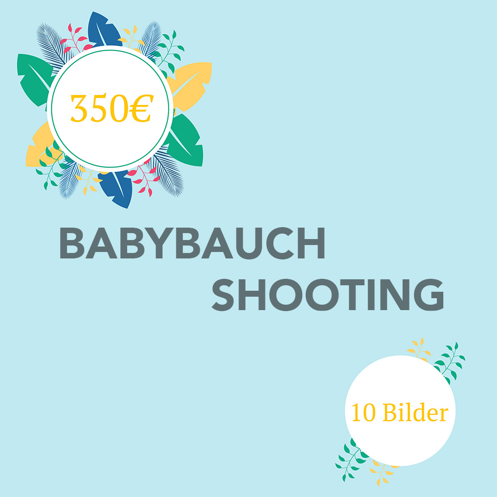 Babybauch Shooting 10Bilder